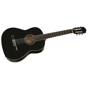 Cataluna SGN C61-BK 3/4 Sort, 47mm klassisk gitar