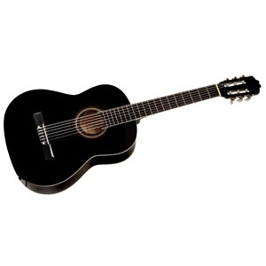 Cataluna SGN C81-PO 4/4 sort klassisk gitar
