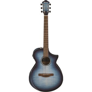 IbanezAEWC400-IBB (Transparent Indigo Blue Burst High Gloss)