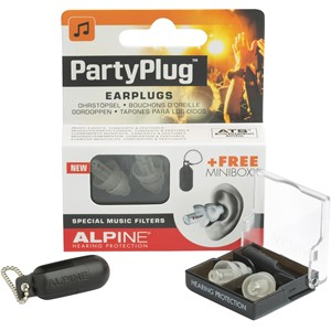 Alpine Partyplug ørepropper transparent