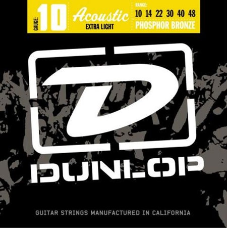 Dunlop Strenger Westerngitar Ph.Bronze DAP1048 Extr.light