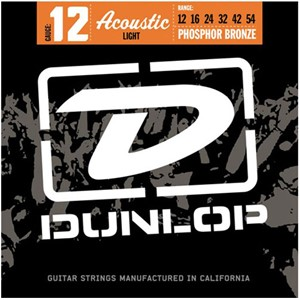 Dunlop Strenger Westerngitar Phosphor Bronze DAP1254 Light
