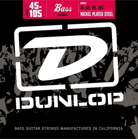 Dunlop EL-Bass str Nickel DBN45105 medium 45-105
