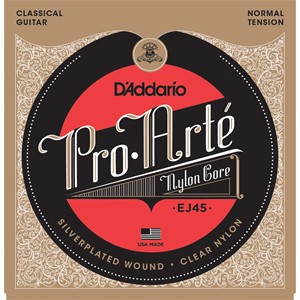 D`Addario Pro Arte Nylon Core Classical Normal Tension
